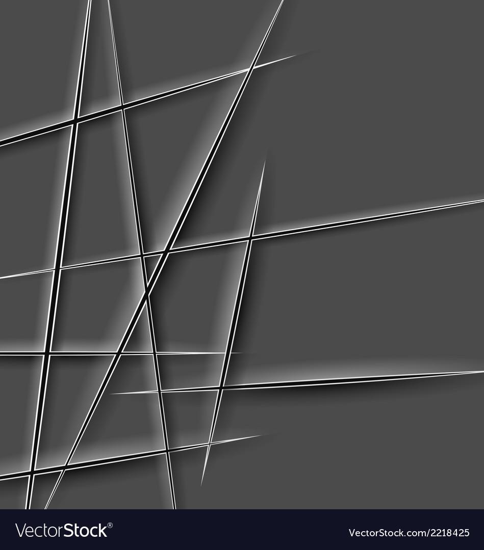 Paper cut lines vector