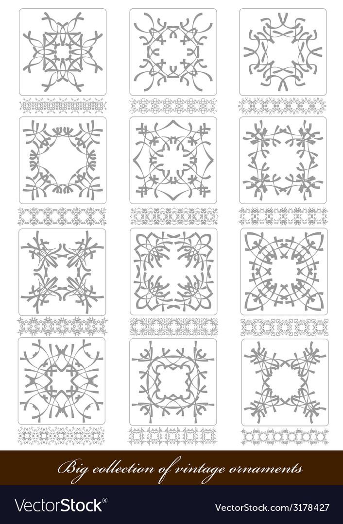 Al 1122 ornaments vector