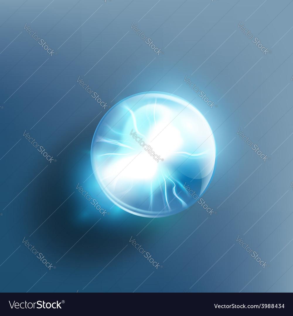 Crystal ball vector