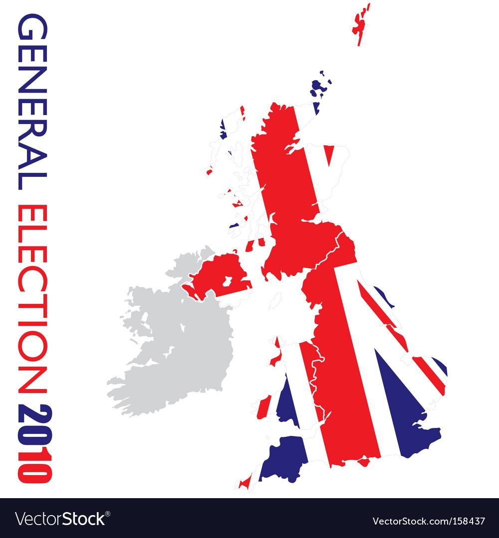 General election british vector