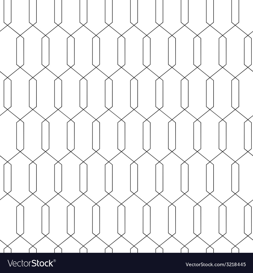 Geometric abstract seamless simple linear pattern vector