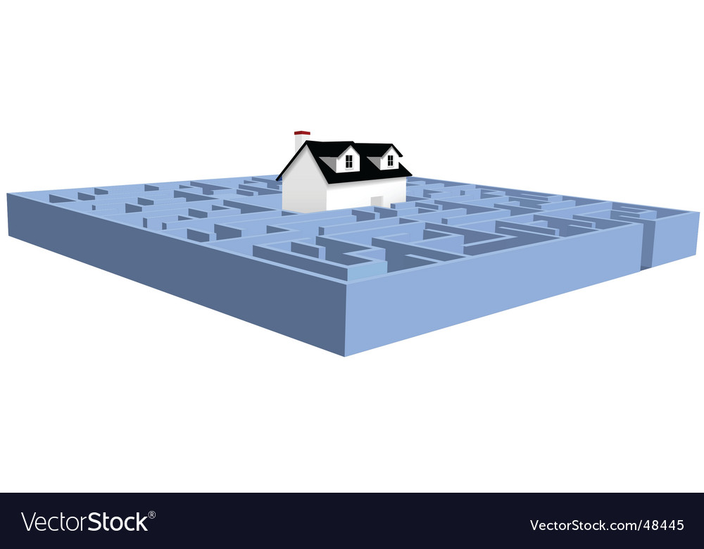 House and real estate vector