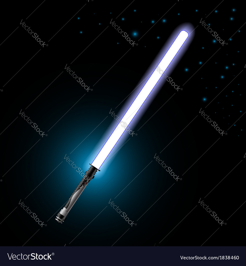 Light saber vector