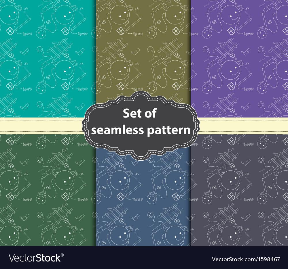 Smile pattern vector