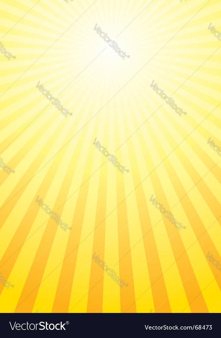 Shining sun background vector