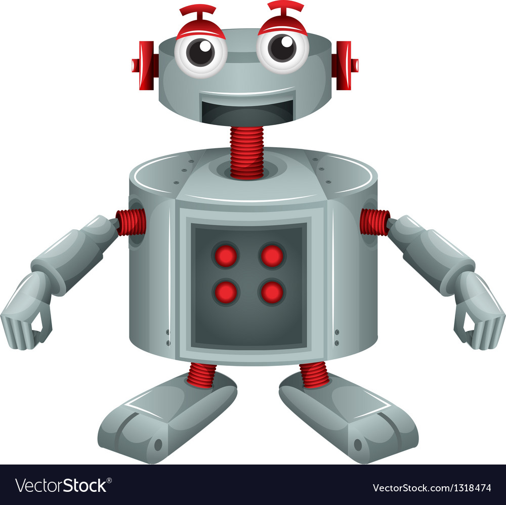 A toy robot vector