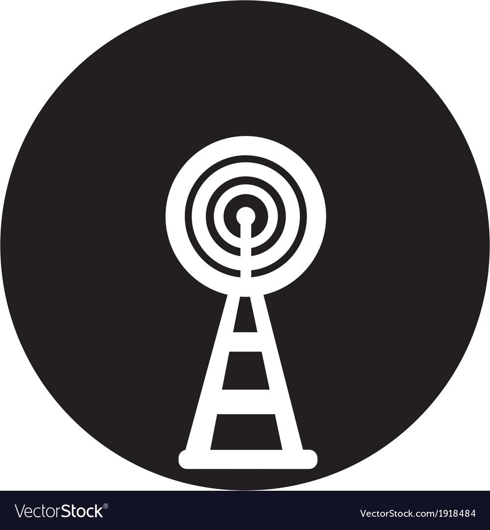 Wireless icon vector