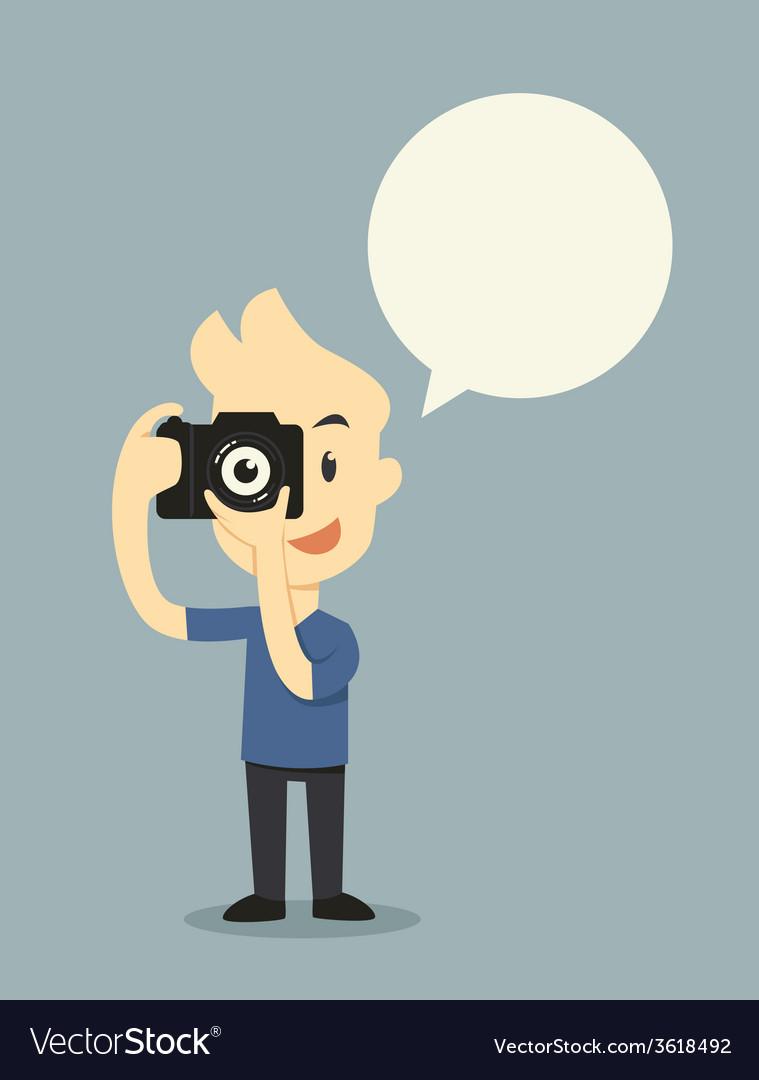 Take photo vector