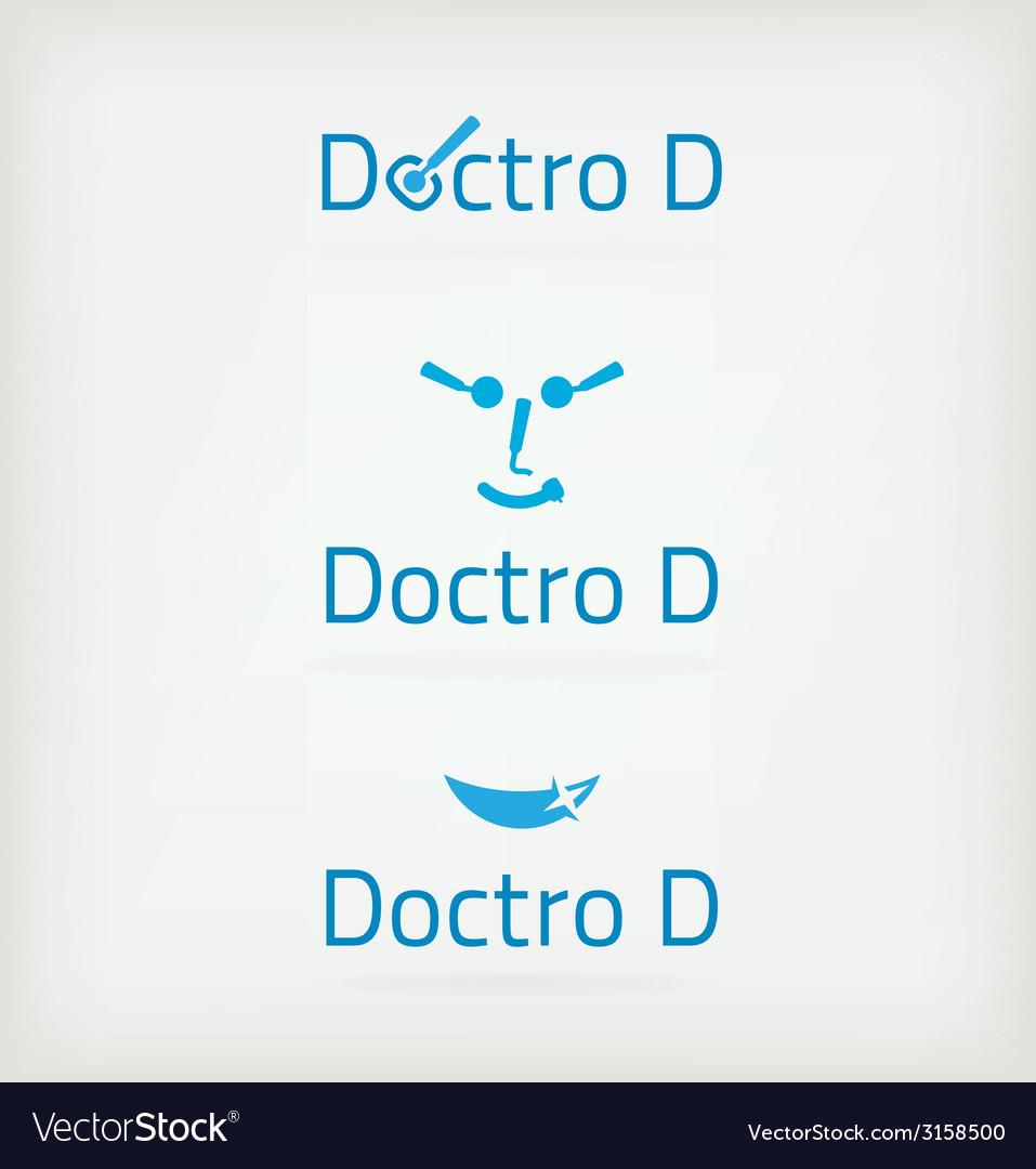 Dental doctor vector