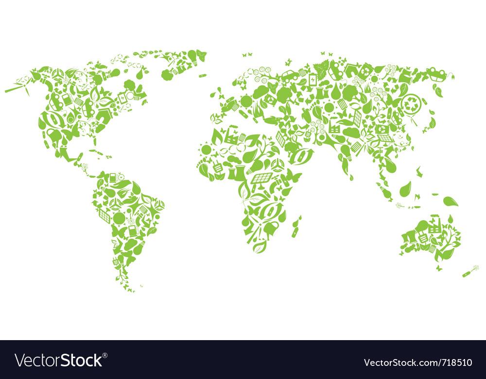 Natural geography vector