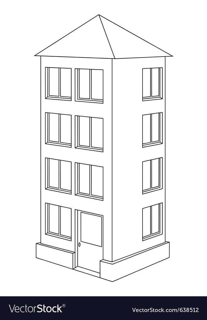 House contour vector