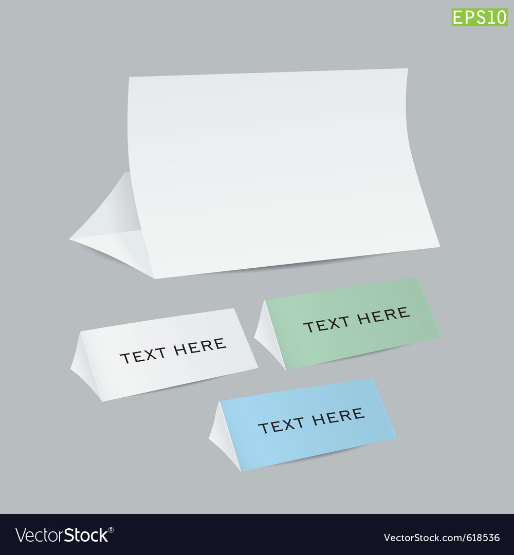 Reminder cards vector