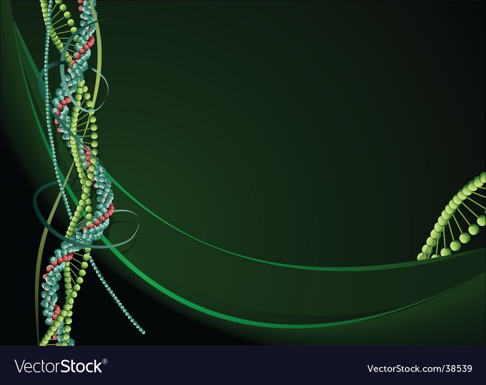 Biology background vector