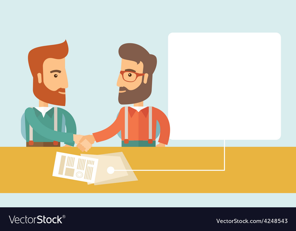 Business meeting vector