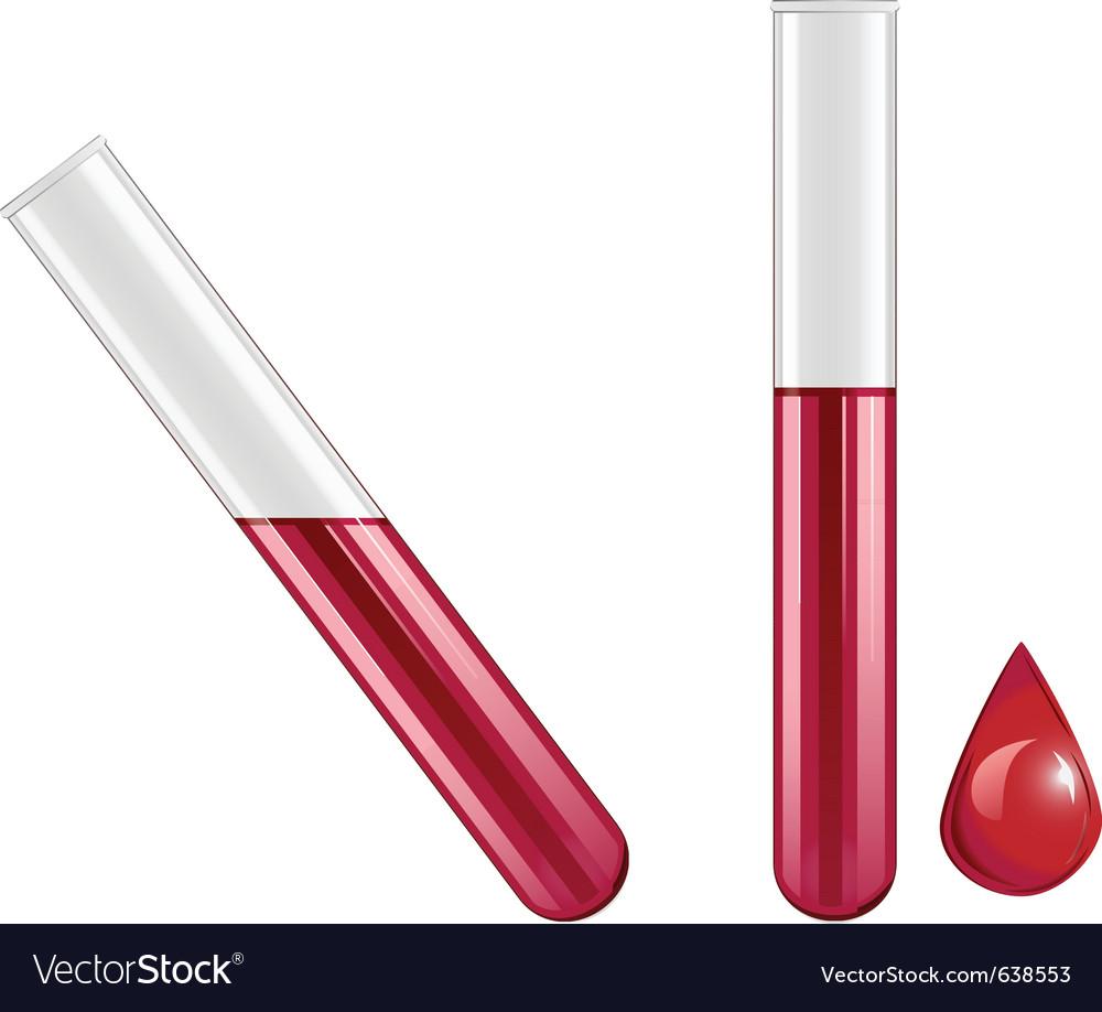 Blood test vector