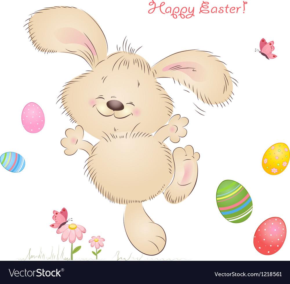 Aester rabbit vector