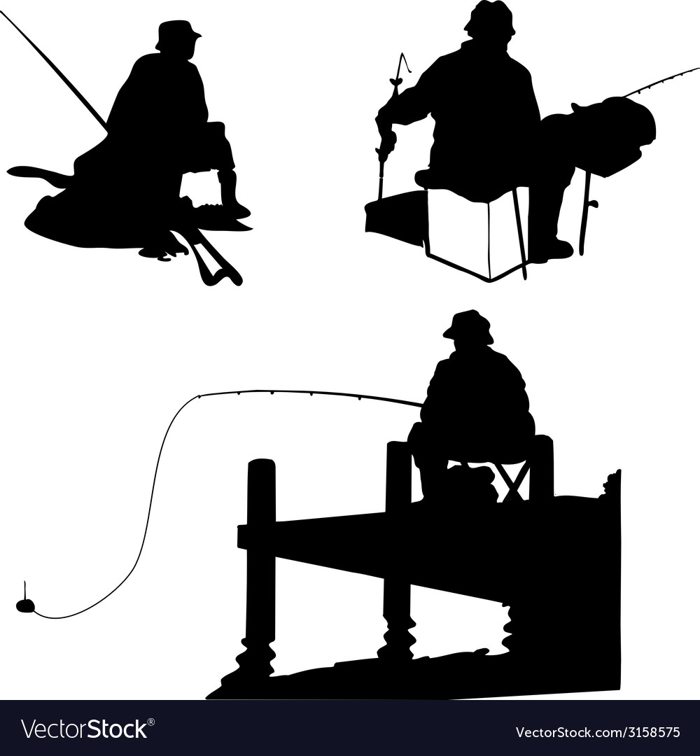 Fishermens vector