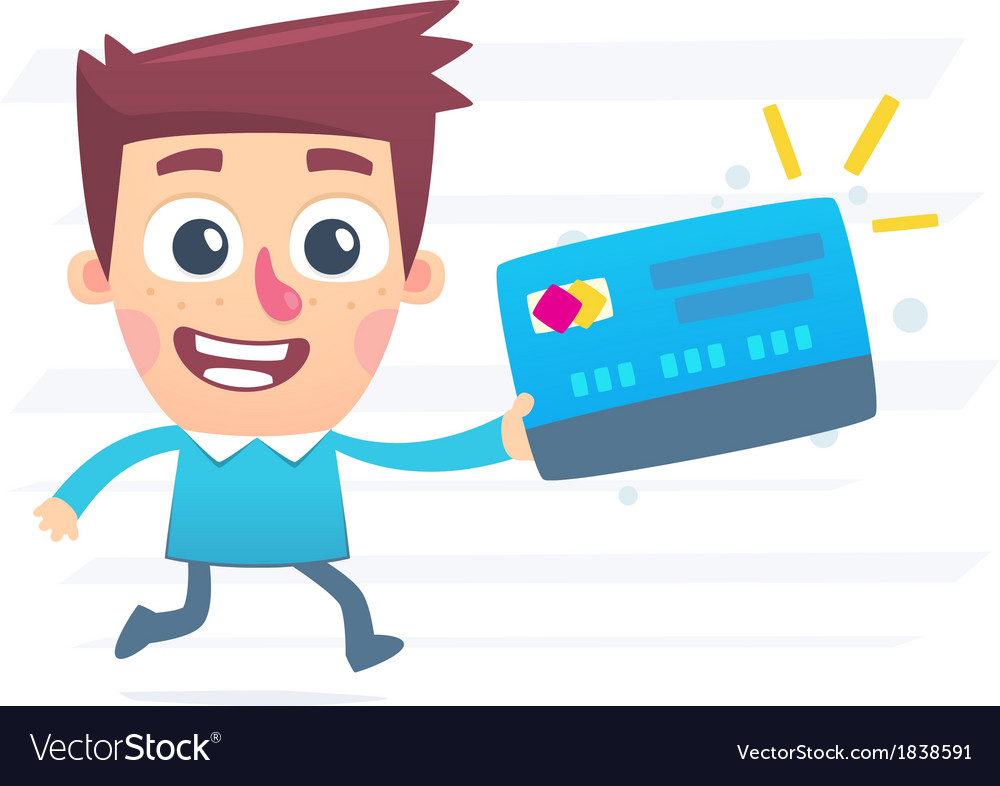 Urgent production of plastic cards vector
