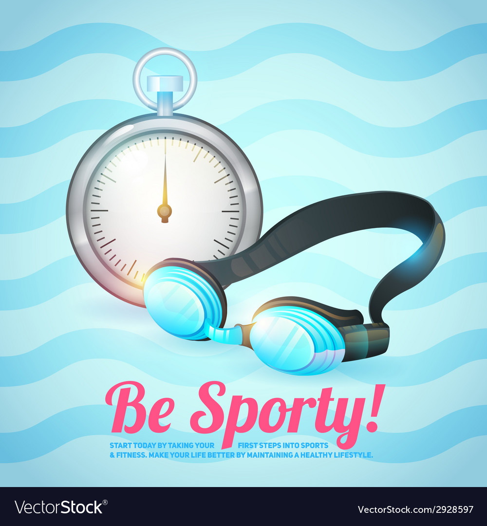 Healthy lifestyle background vector