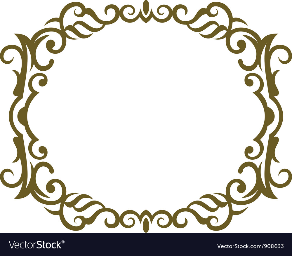 Frame design vector