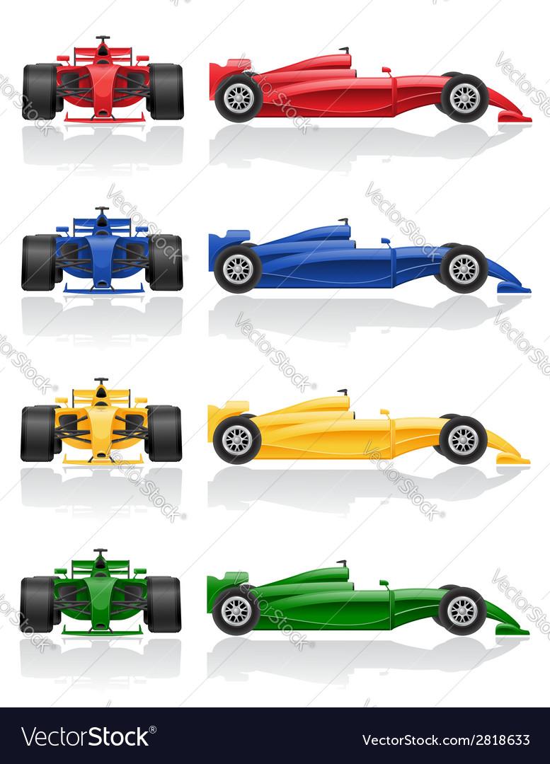 Racing car 03 vector