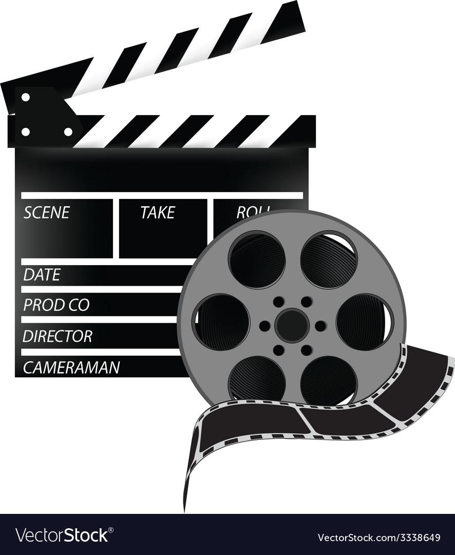 Cinema set vector