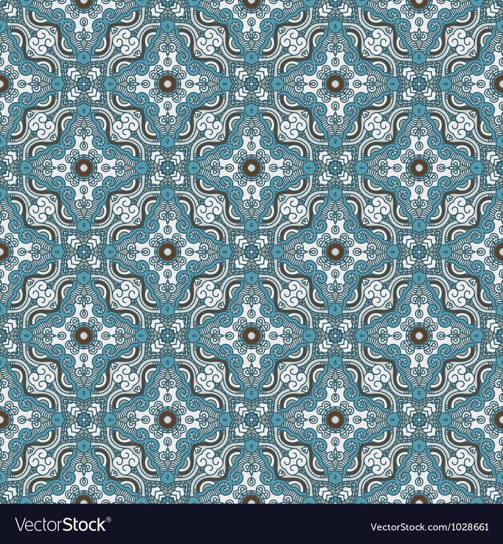 Decorative retro pattern vector