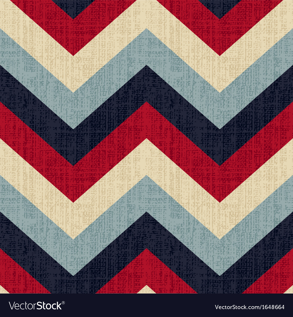 Seamless chevron pattern background vector