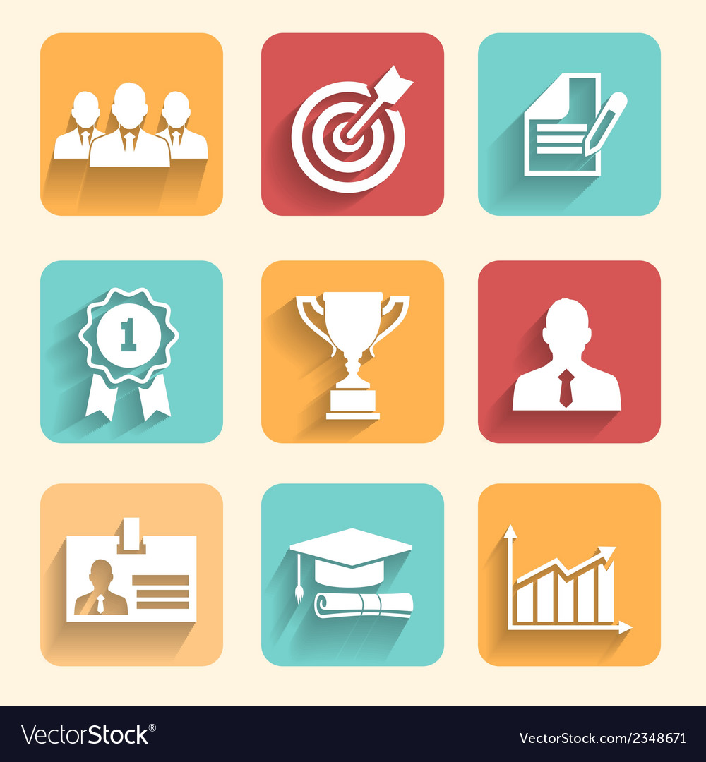 Business career vector
