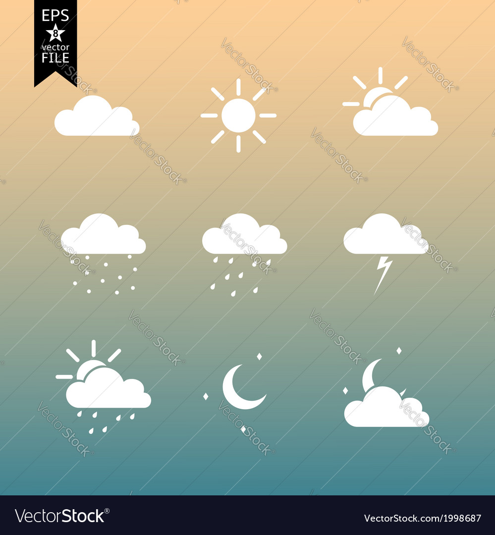 Wheather-icons-vector