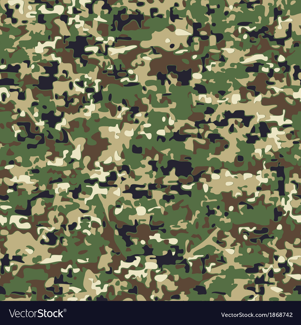 Modern faux digital camo vector