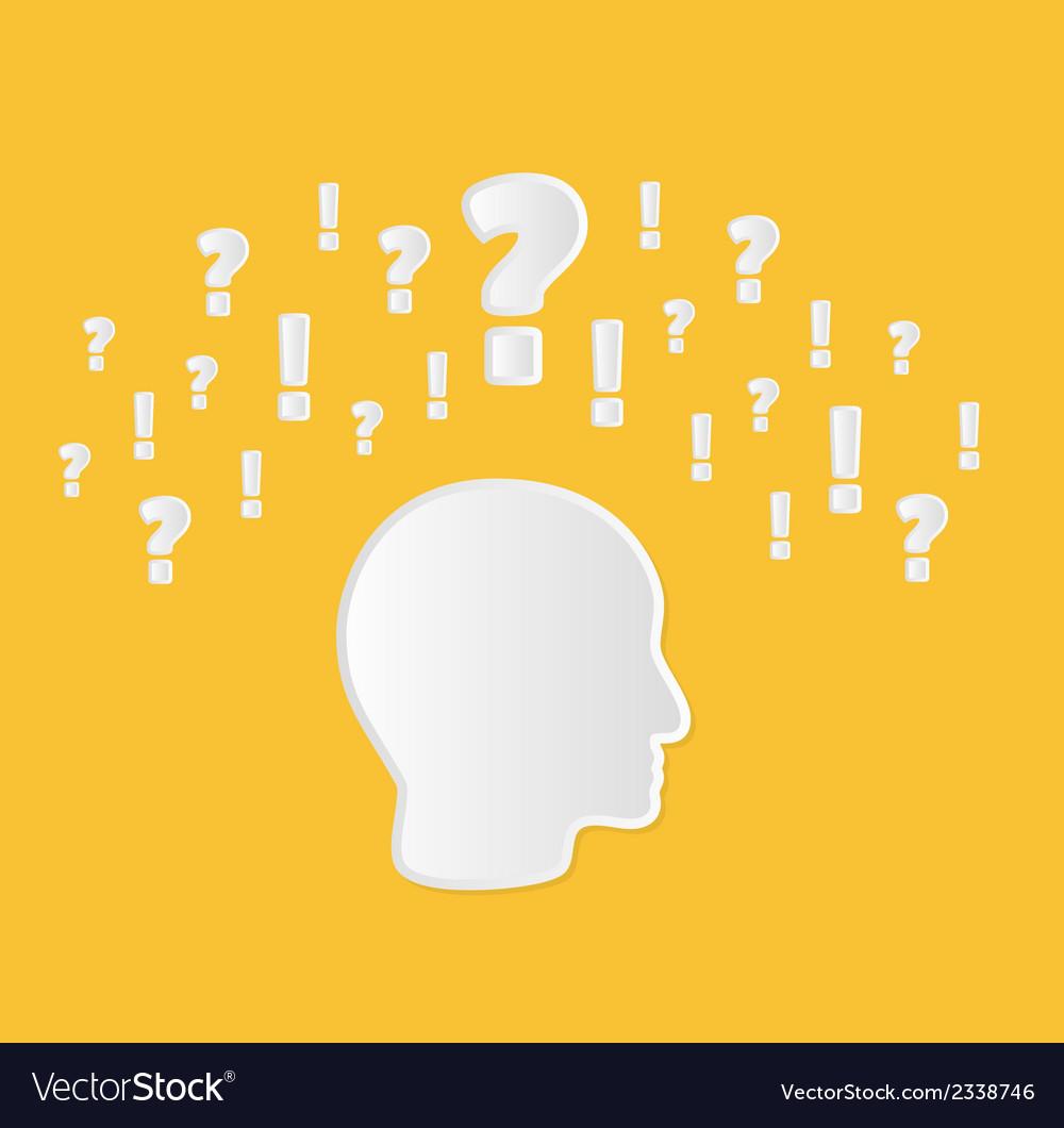 Confusion in head vector