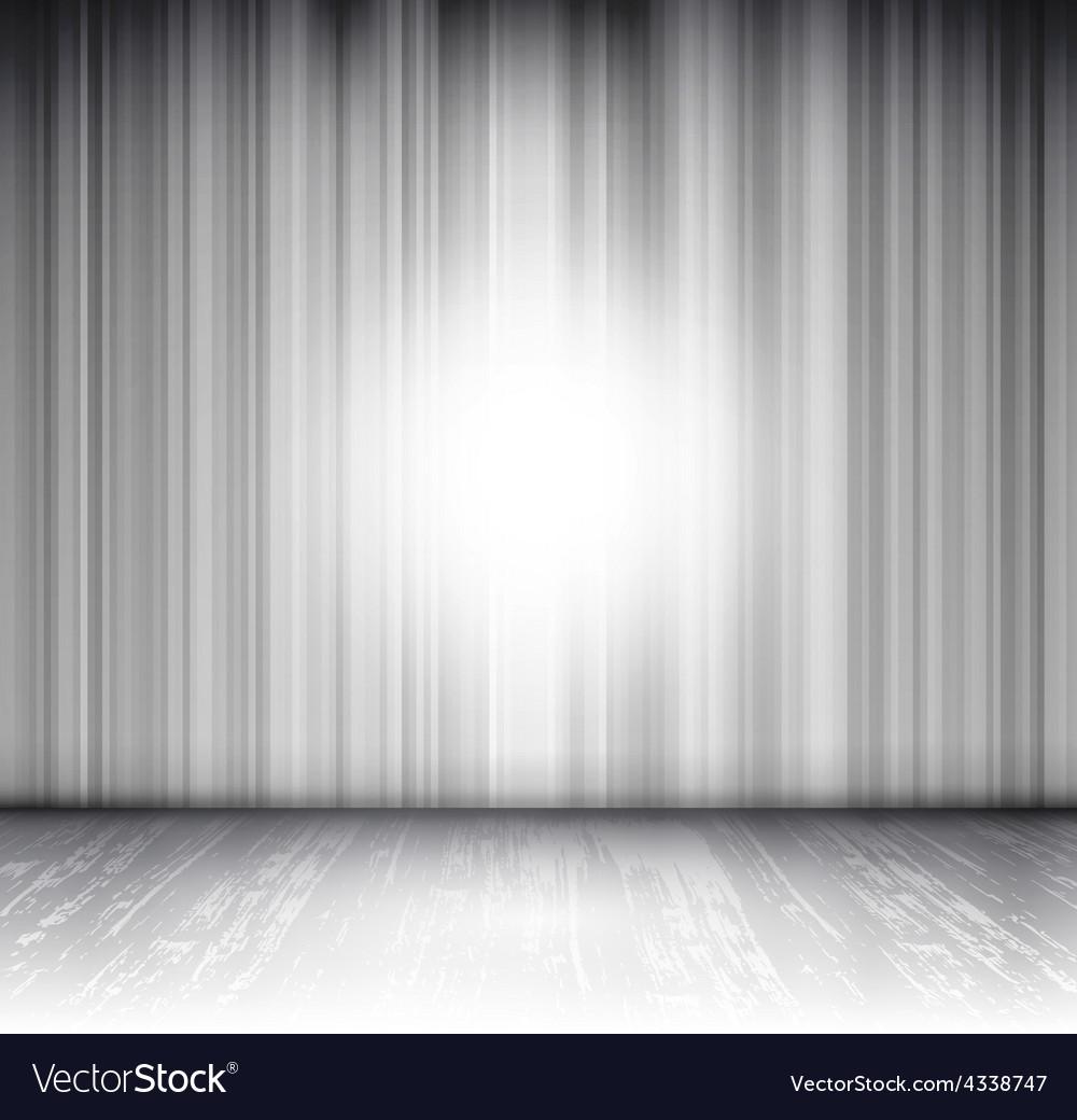 Empty scene vector
