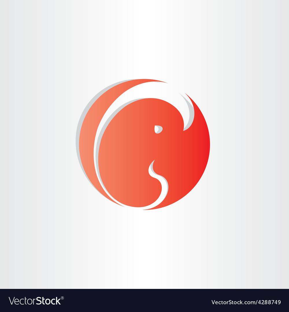 Embryo fetus icon design element vector