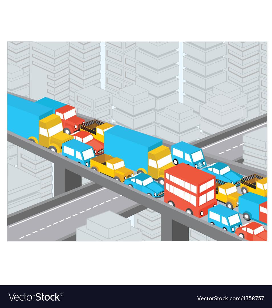 Traffic vector