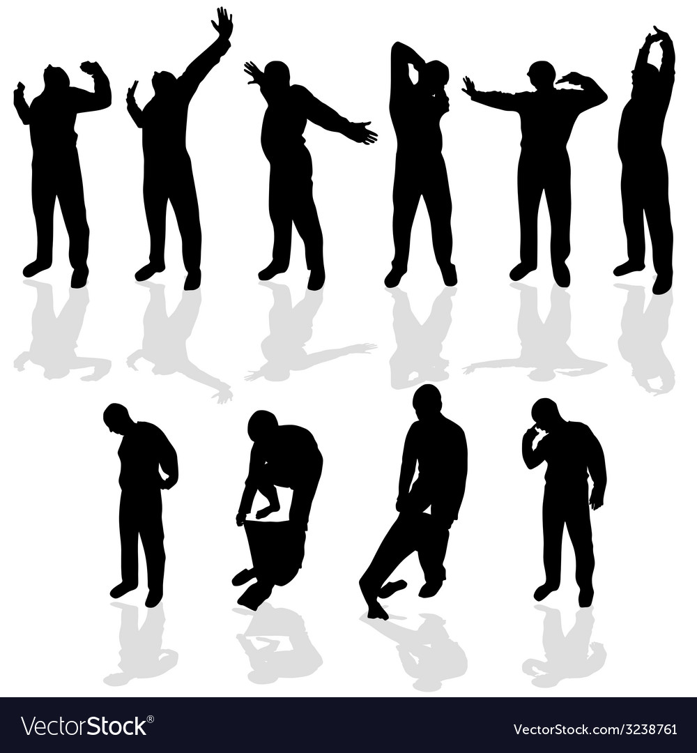 Morning stretching and wear pajamas vector