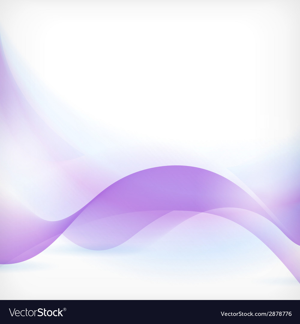Blue purple wave background vector