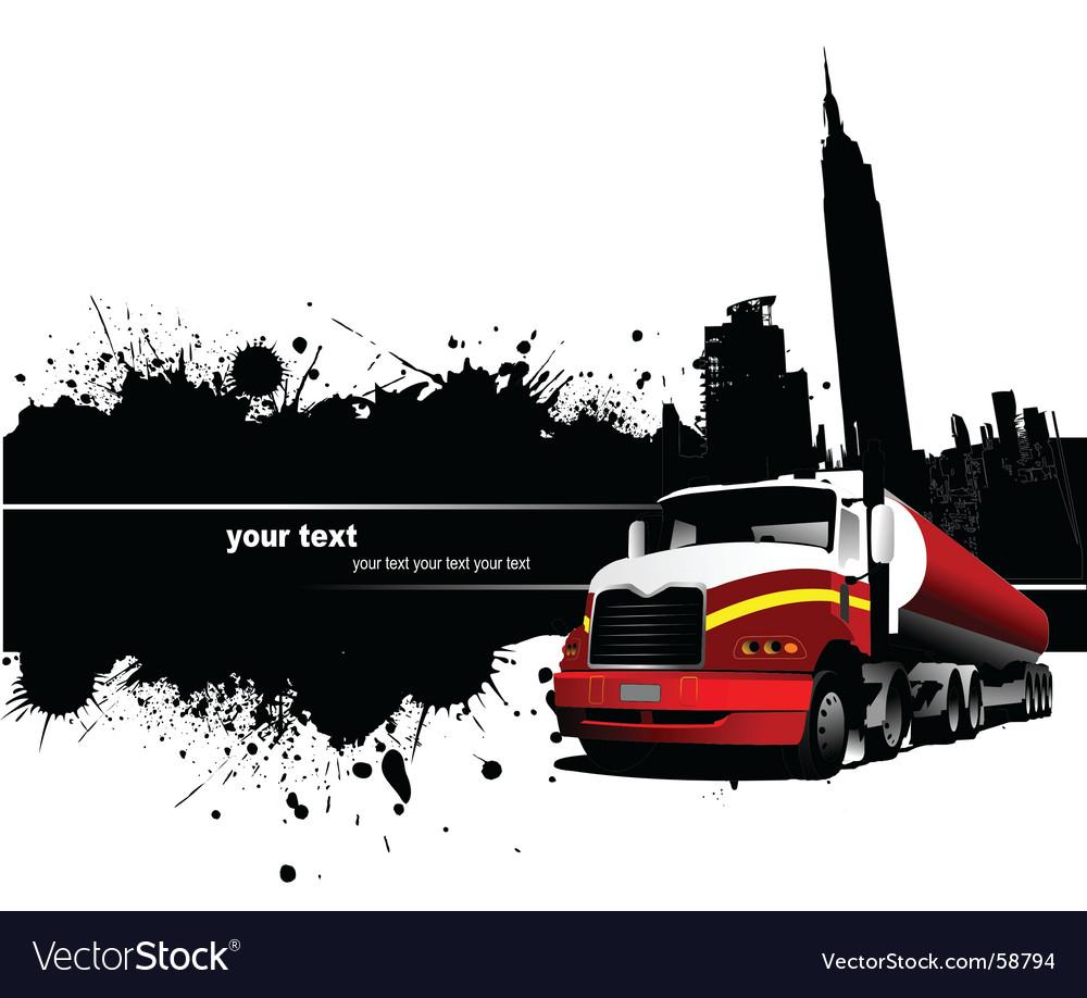 Grunge industrial background vector