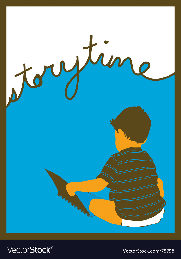 Story time vector
