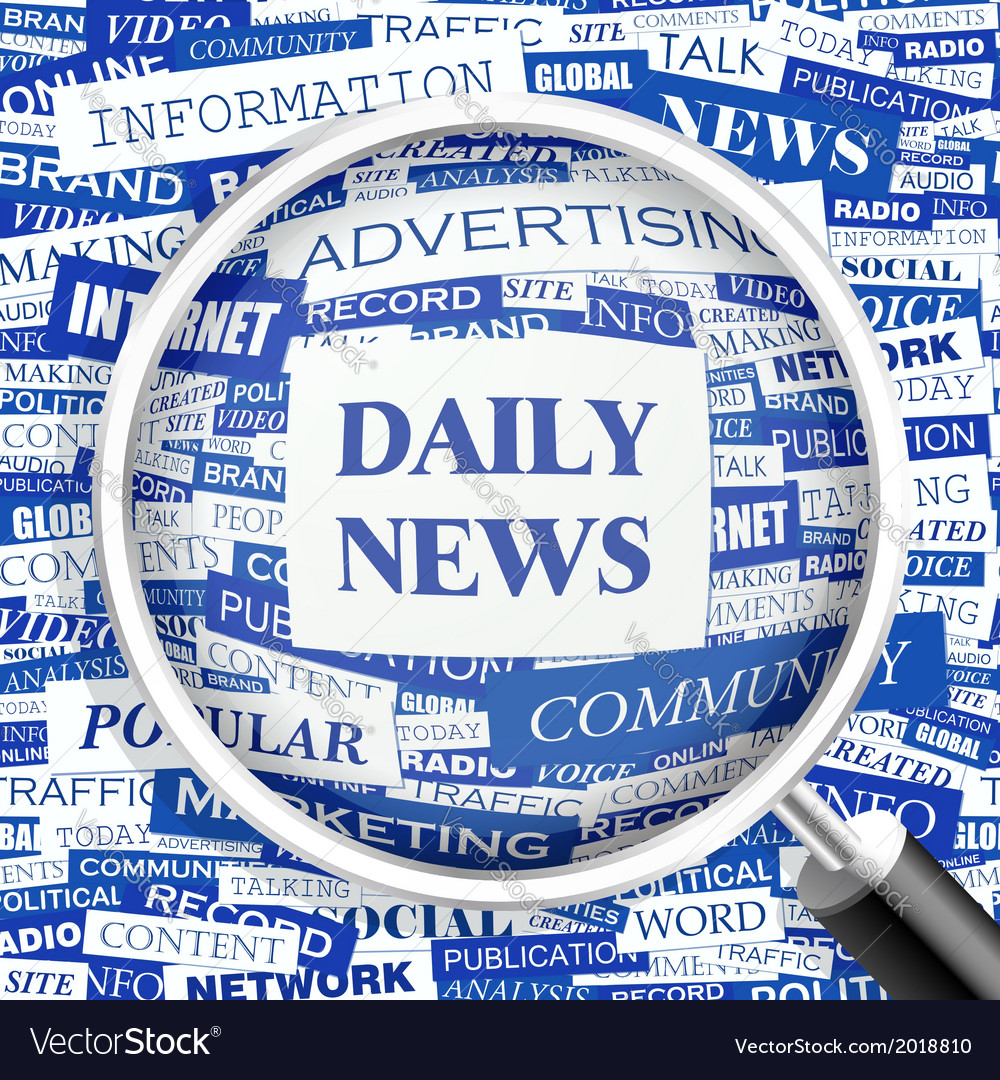 Daily news vector