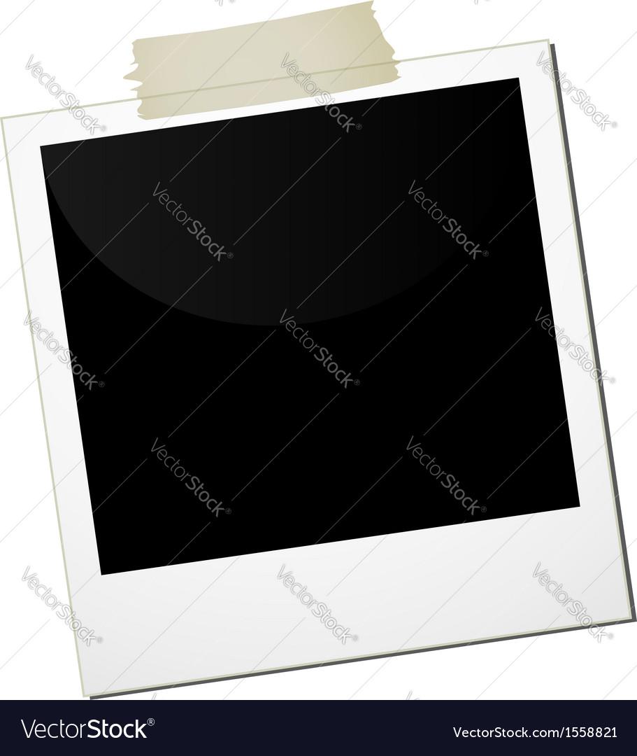 Polaroid business vector