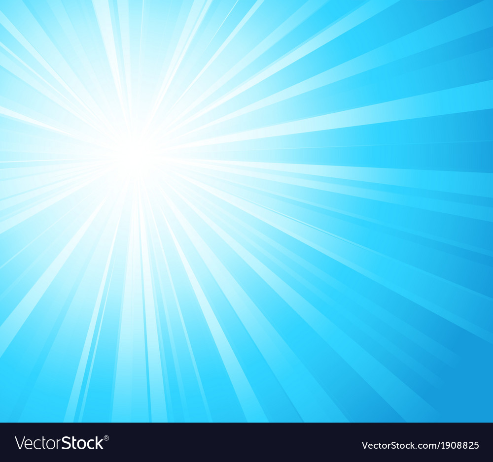 Abstract sunny light background vector