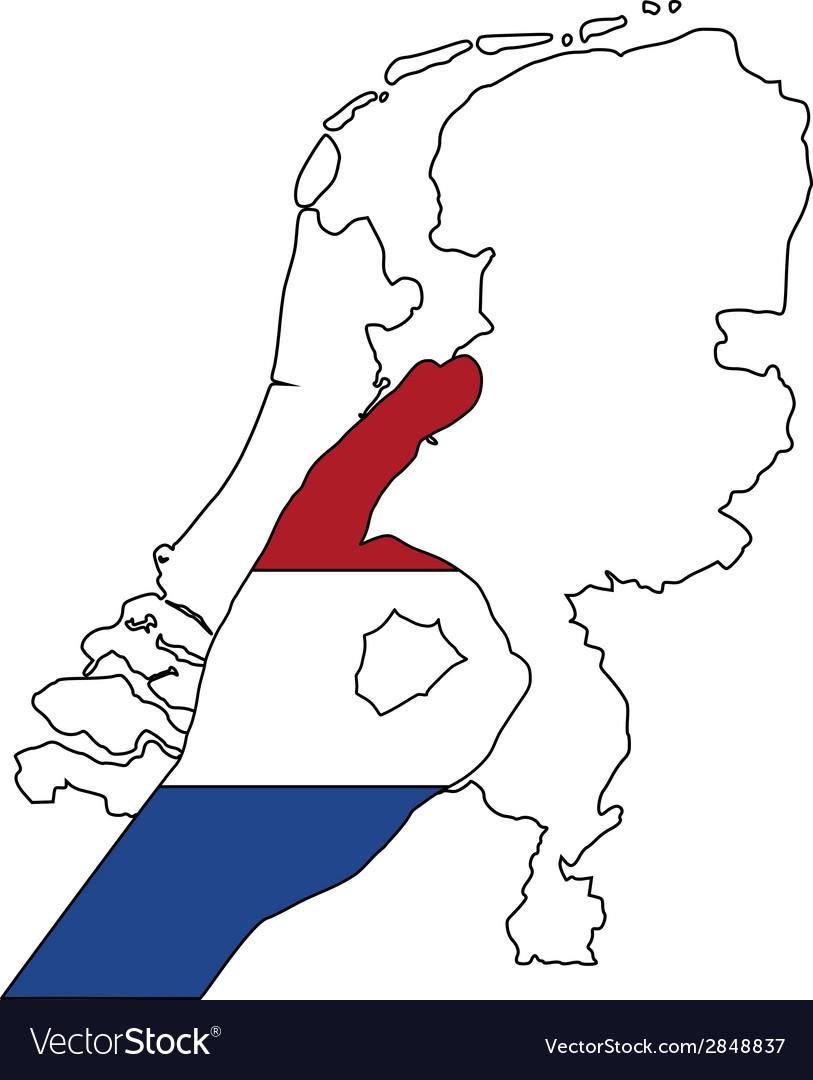 Dutch finger signal vector