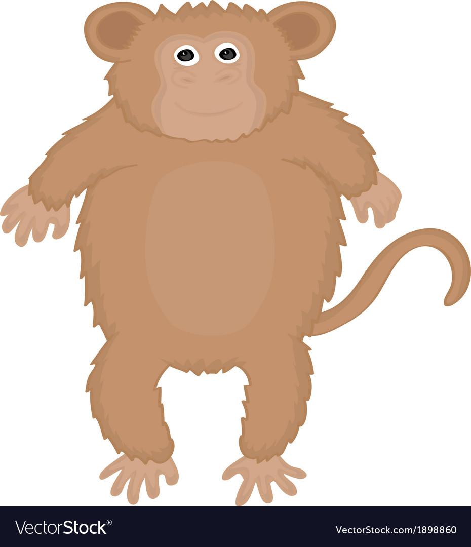 Ape cute vector