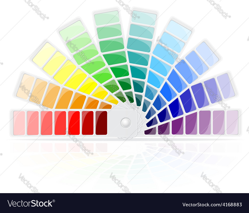 Color palette 01 vector