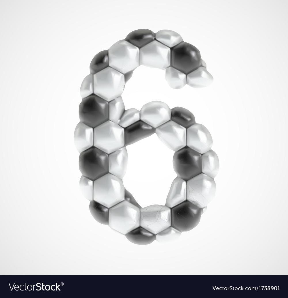 Soccer alphabet eps8 vector