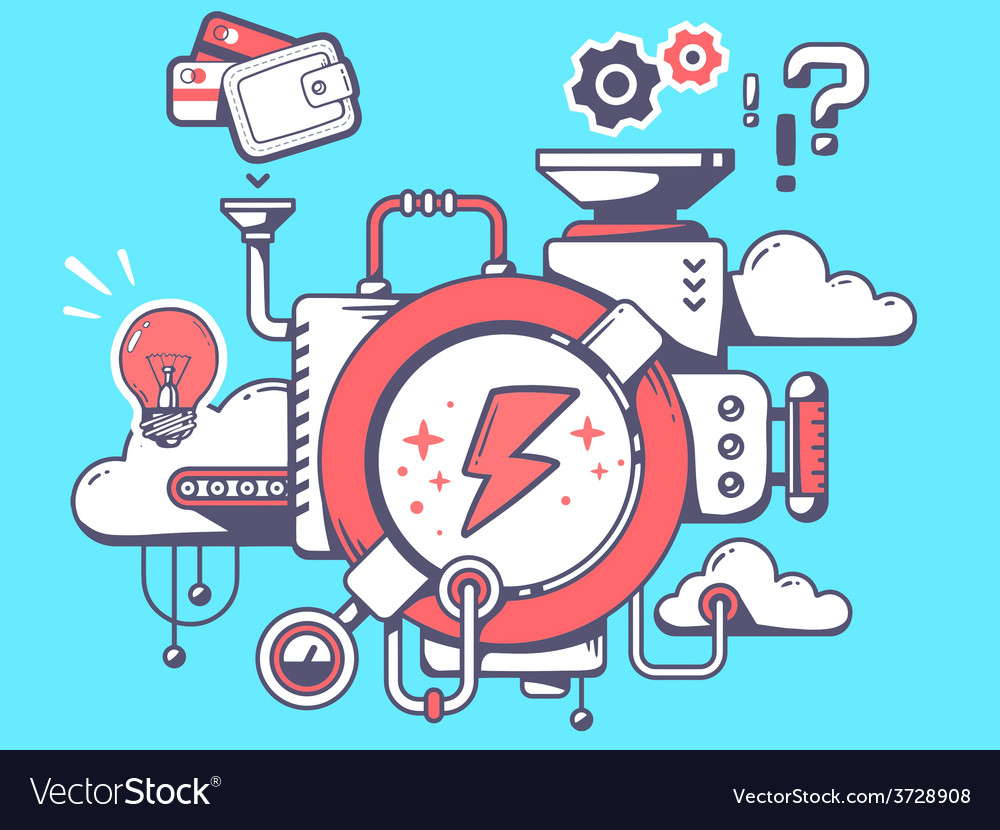 Mechanism to make lightning and relevant vector