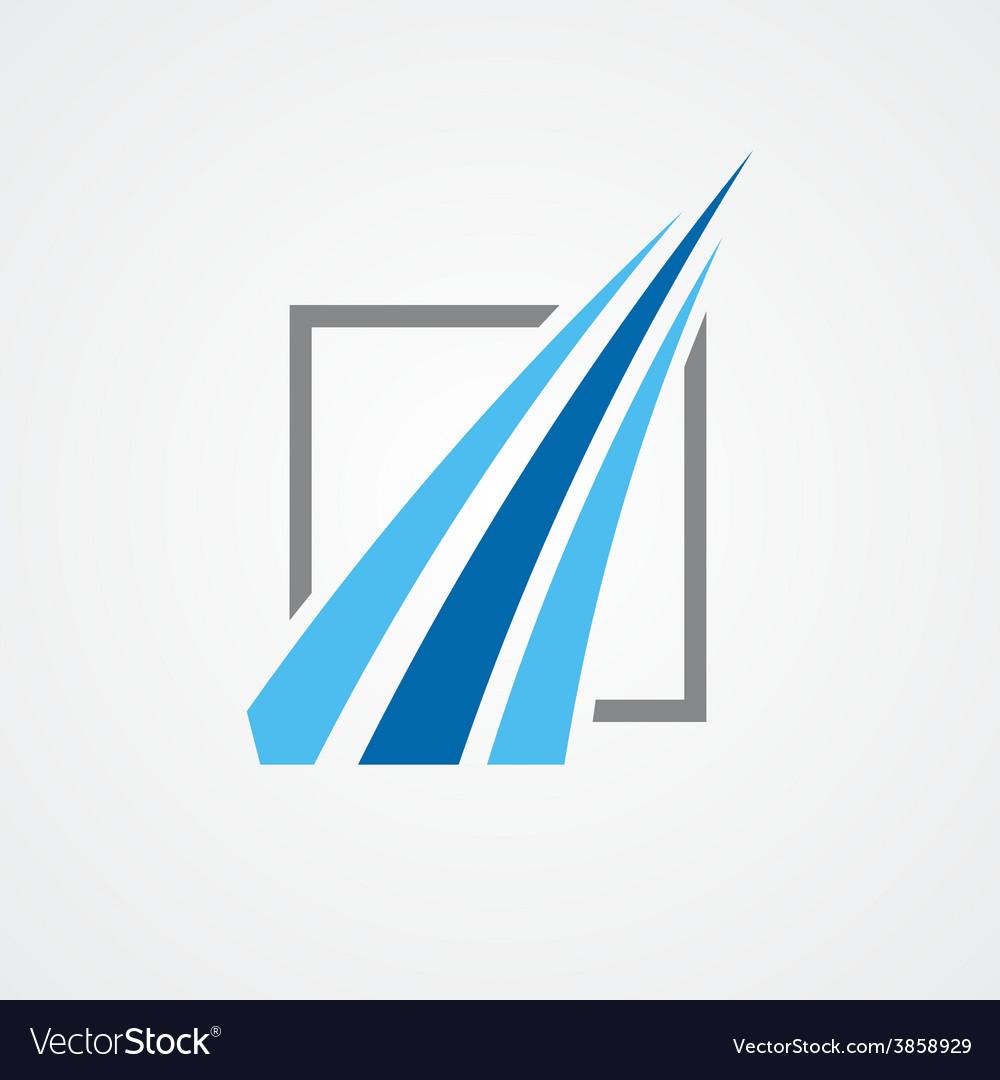 Logo for financial companies vector