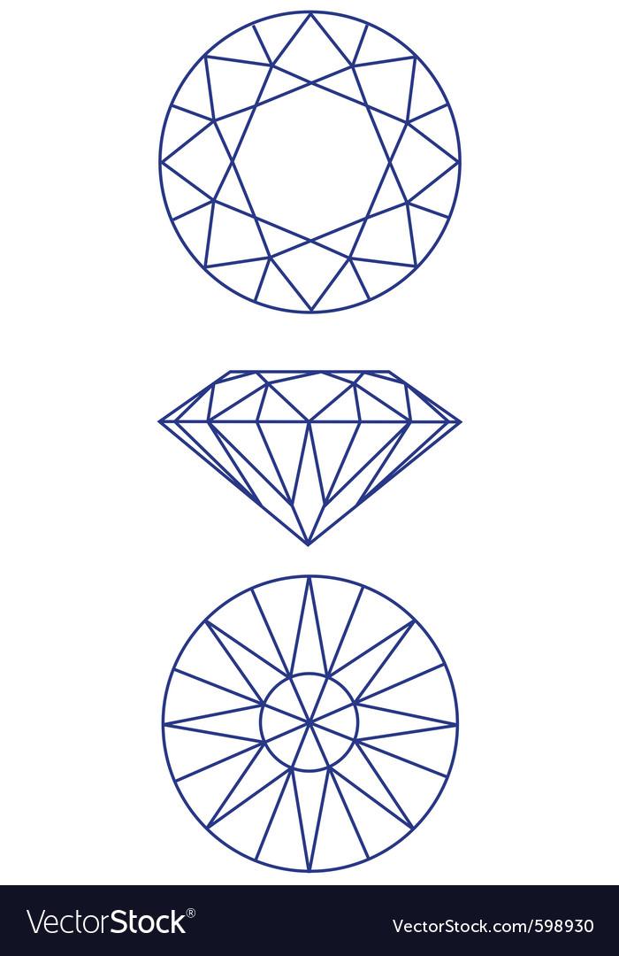 Diamond scheme vector