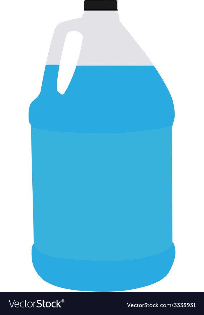 Big bottle water vector